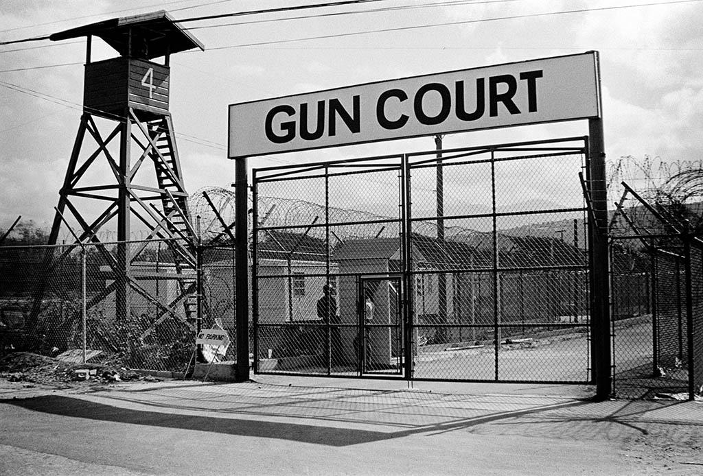 Gun Court Jamaica's place of Indefinite Detention - Kingston Jamaica 1973