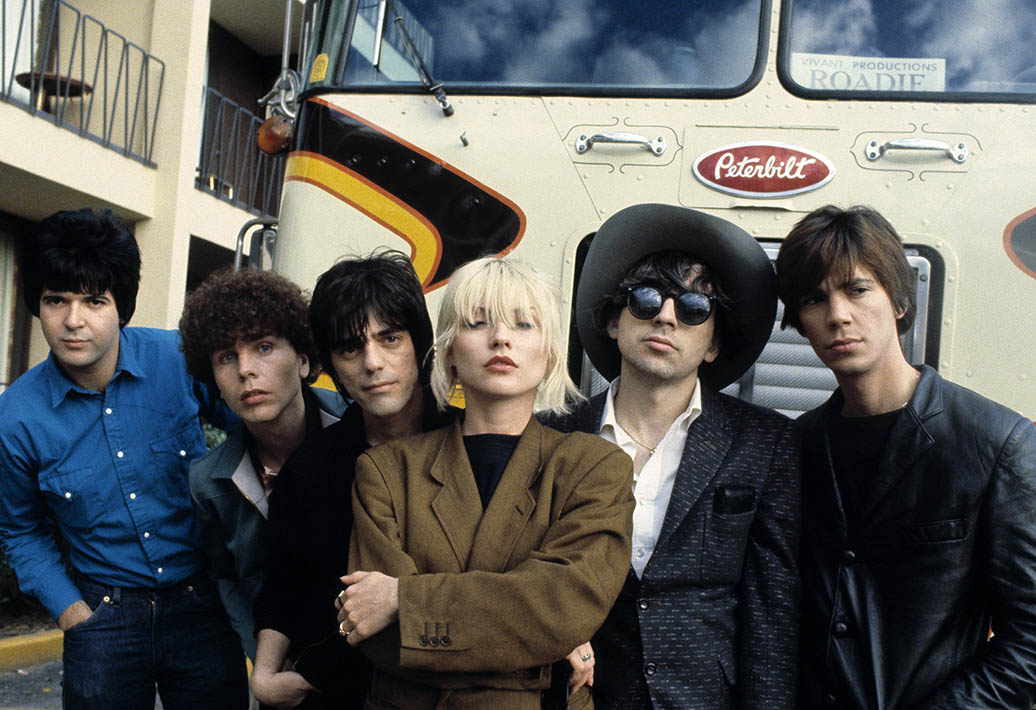 Blondie Adrian Boot's Photographic Biography
