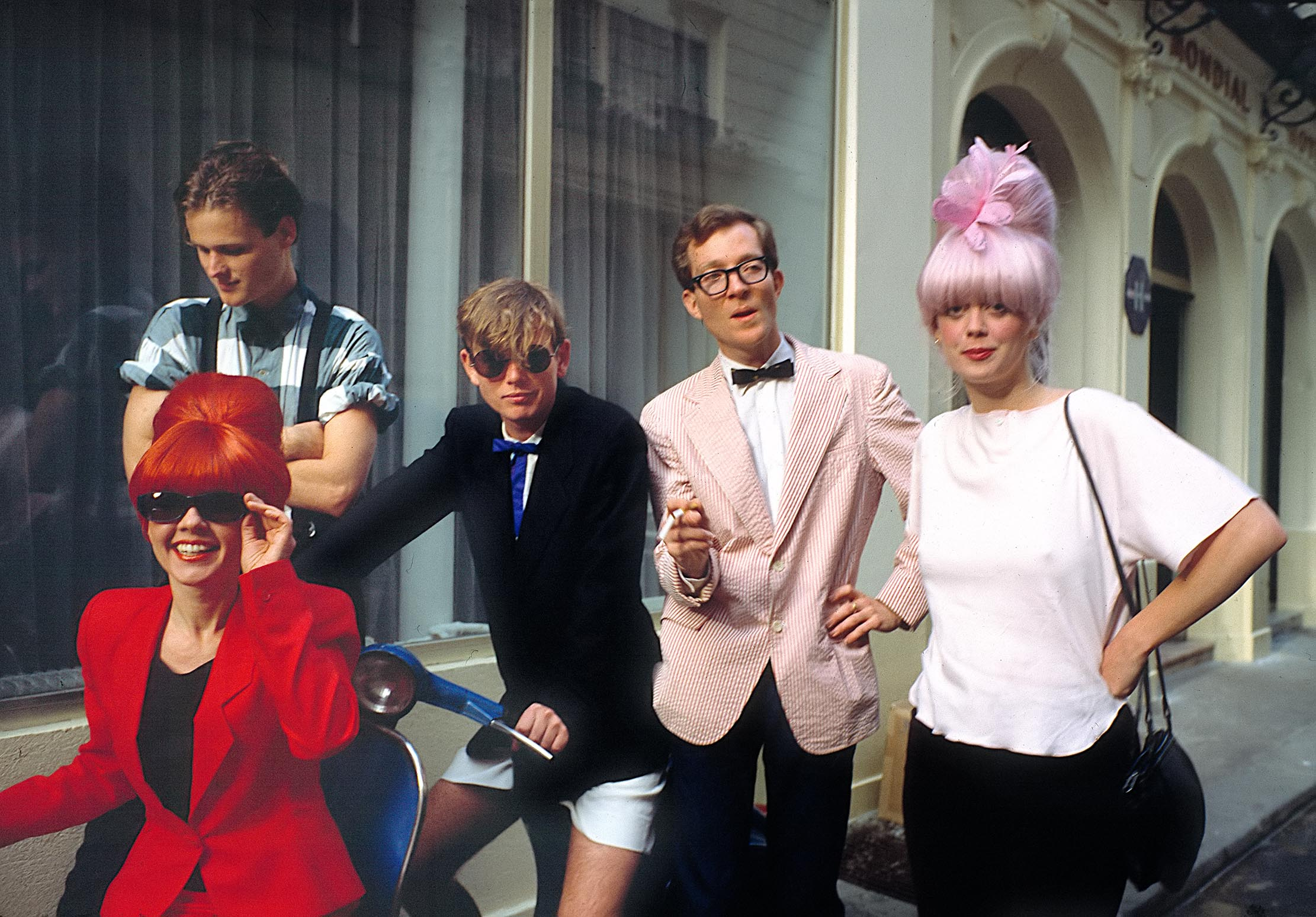 B52's Paris 1983 - Photographic Biography
