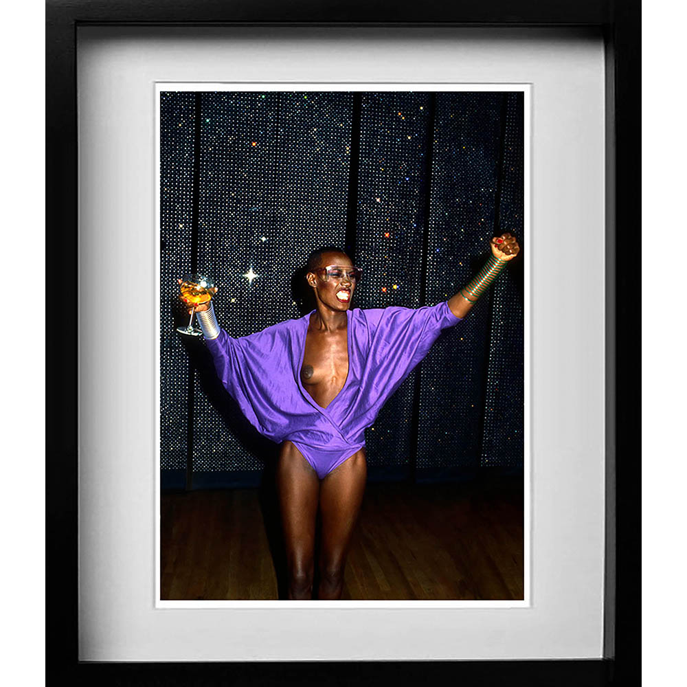 Grace Jones at a Studio 54 party New York 1981 A gallery of some of the years most popular prints