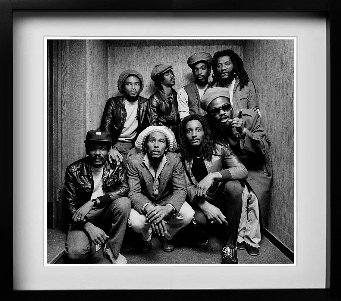 Bob Marley. A gallery of some of the years most popular prints