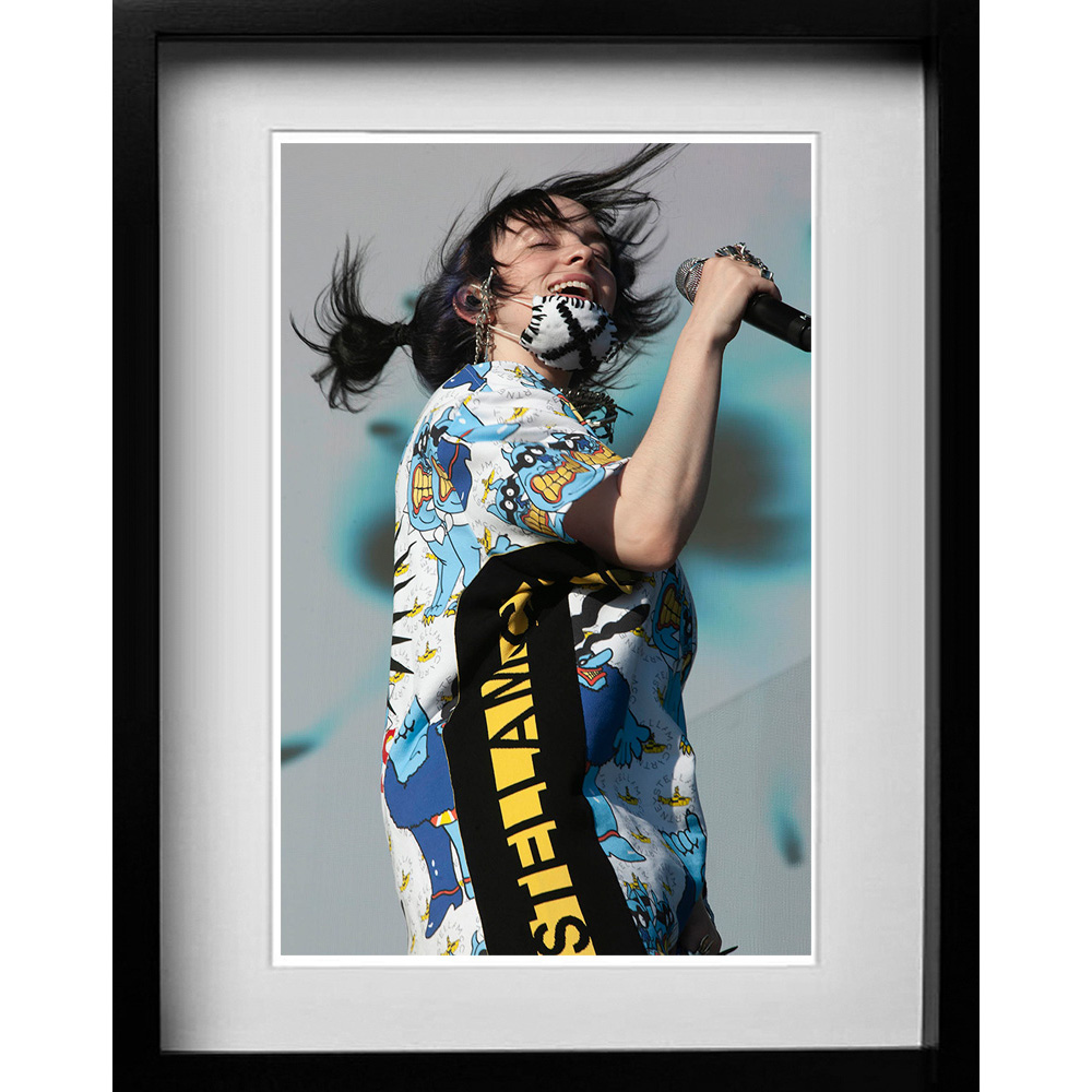 Billie Eilish Glastonbury 2019. A gallery of some of the years most popular prints